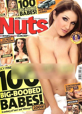 Nuts 16-22 Oct 2009 Lucy Pinder Big Boobed Babes Casey Batchelor Amii Grove