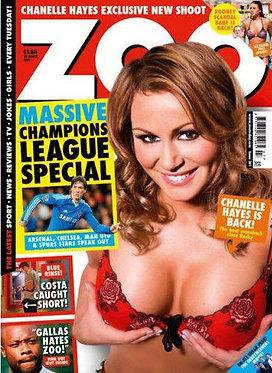 Zoo 18-24 Feb 2011 Chanelle Hayes Zoe Davies Jennifer Metcalfe