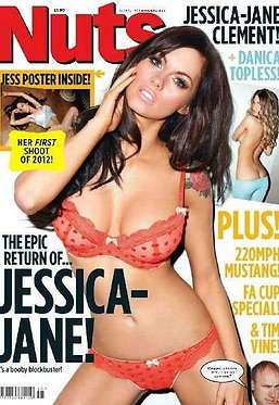 Nuts 13-19 April 2012 Jessica-Jane Clement, Danica Thrall topless