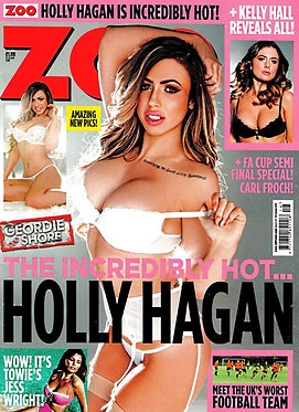 Zoo 17-23 April 2015 Holly Hagan, Jess Wright, Kelly Hall, Kevin James