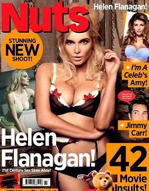 Nuts 22-28 Nov 2013 Helen Flanagan, Hollie Sparrow, Susie Summer