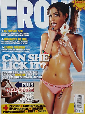 Front Summer 2006 #99 Ice Cube, Krystle Page 3 Kyla Cole