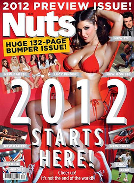 Nuts 30 Dec - 5 Jan 2012 Lucy Pinder, Klaudia Badura, Nicole Neal Danni Brooks