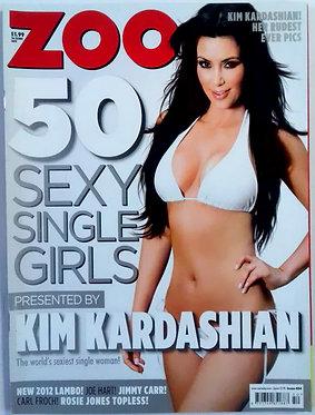 Zoo 16-22 Dec 2011 - Kim Kardashian, Jimmy Carr, Rosie Jones