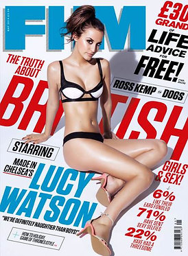 FHM May 2014 - Lucy Watson Ross Kemp Ashley Sky Made In Chelsea