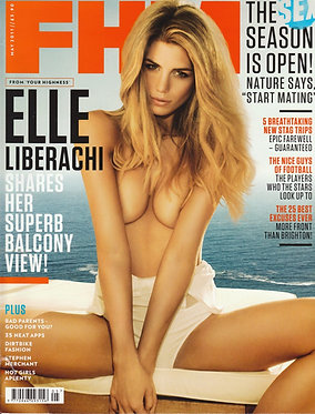 FHM May 2011 Elle Liberachi Emily O'Hara Sarah Mutch