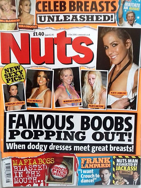 Nuts 1-7 Dec 2006 - Famous Boobs Popping Out, Jackass