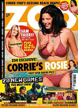 Zoo 15-21 Oct 2010 Topless Sam Faiers Helen Flanagan Dappy