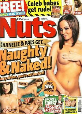 Nuts 4-10 July 2008 Chanelle Hayes Katie Downes Naughty and Naked