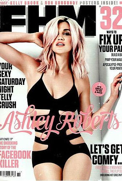 FHM Nov 2014 Ashley Roberts Emily Agnes Lyndie Greenwood