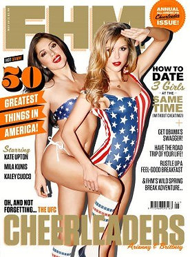 FHM May 2013 #281 Arianny Celeste, Brittney Palmer, American Issue