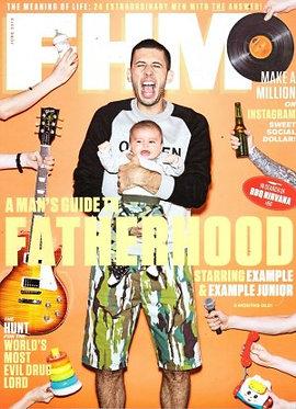 FHM June 2015 M Night Shyamalan, Melanie Iglesias, Fatherhood