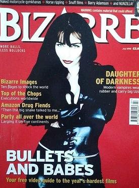 Bizarre 10 July 1998 Eileen Daly Vampires RARE