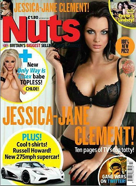 Nuts 1-7 April 2011 Chloe Sims Topless Jessica-Jane Clement Emma Frain Strutt