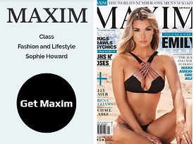 Buy rare back copies of UK Maxim magazin