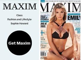 Buy rare back copies of UK Maxim magazin