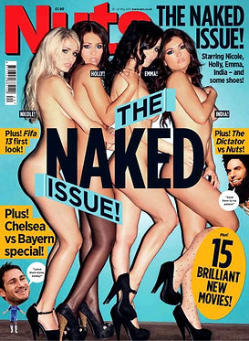 Nuts 18-24 May 2012 Nicole Neal, Lexi Lowe, India Reynolds, Rosie Rees