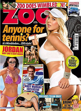 Zoo 26 June - 2 July 2009 Madison Welch Jack Black Katie Price Kelly Andrews
