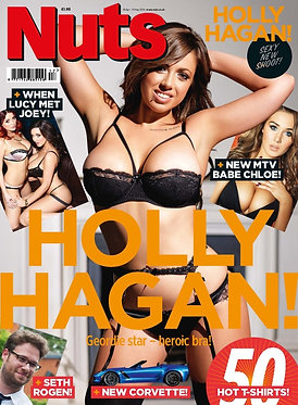 Nuts 25 April – 1 May 2014 Holly Hagan, Chloe Goodman, Lucy Collett, Joey Fisher