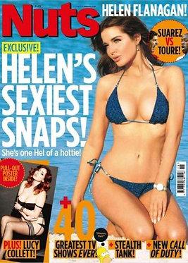 Nuts 11-17 April 2014 Helen Flanagan Demi Rose Lucy Collett Zara May