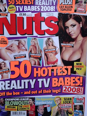 Nuts 23-29 May 2008 Lilly Allen, Reality Babes Ricky Hatton Gemma Atkinson