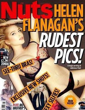 Nuts 21-27 June 2013 Brad Pitt Sallie Axl Helen Flanagan Charlotte Springer