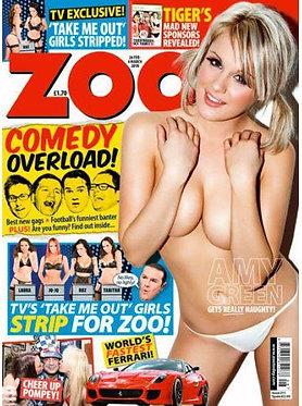 Zoo 26 Feb - 4 March 2010 Amy Green Jo-Jo Take Me, Gemma Parsons