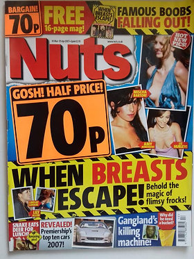 Nuts 30 March - 5 April 2007 Charlotte Mears Alan Sugar
