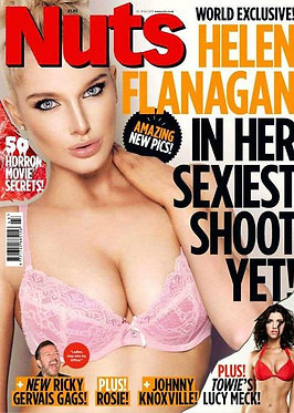 Nuts 25-31 Oct 2013 Lucy Meck Helen Flanagan Rosie Jones Glamour