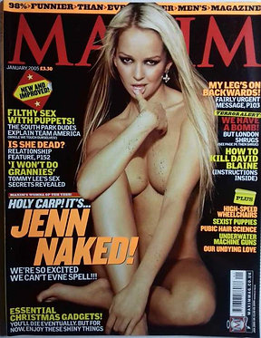 MAXIM Jan 2005 - Jennifer Ellison, Trey Parker, Matt Stone