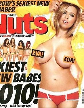 Nuts 1-7 Jan 2010 Eva Wyrwal, Melissa Debling, Sam Faiers topless