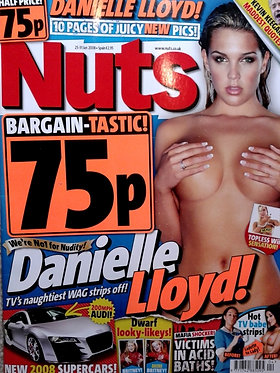 Nuts 25-31 Jan 2008 Kelly Simpson Danielle Lloyd, Siobhan Fisk