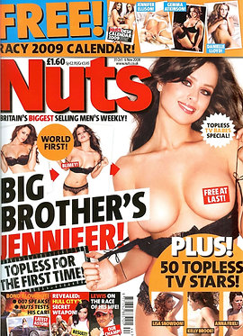 Nuts 31 Oct - 6 Nov 2008 Jennifer Clark Jessica-Jane Clement