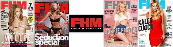 Old copies of UK magazine FHM for sale.j