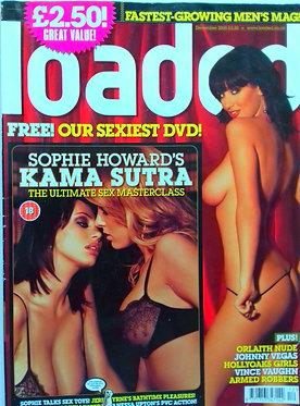 Loaded Dec 2005 - Sophie Howard, Kama Sutra Issue, Vince Vaughn