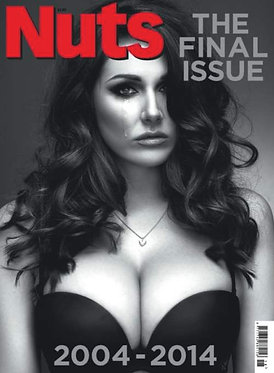Nuts 2-8 May 2014 Lucy Pinder Final Issue Jenna Jonathan Stallone Schwarzenegger
