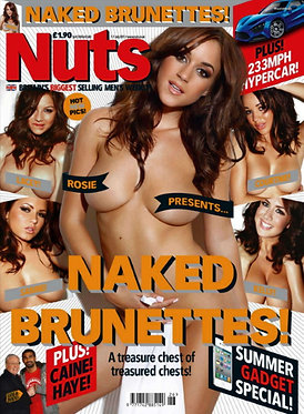 Nuts 1-7 July 2011 - Michael Caine, Rosie Jones, Lacey Bangard