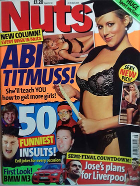 Nuts 22-28 April 2005 Abi Titmuss Lauren Pope Jennifer Ellison