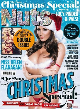 Nuts 13-26 Dec 2013 Lucy Pinder Helen Flanagan Claudia Dean India Reynolds X-Mas