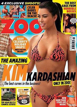 Zoo 15-21 July 2011 Kim Kardashian Paige Green Jason Mandford