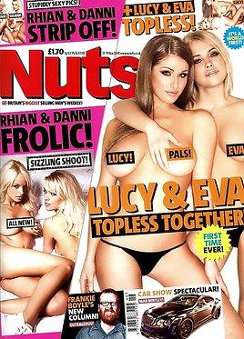 Nuts 13-19 Nov 2009 - Lucy Pinder, Eva Wyrwal, Rhian Sugden, Danni Wells