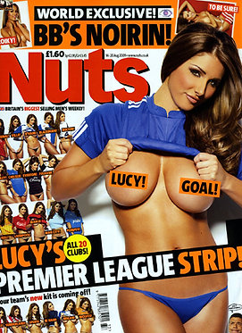 Nuts 14-20 Aug 2009 Lucy Pinder Football Strip Noirin Kelly Liz Fuller