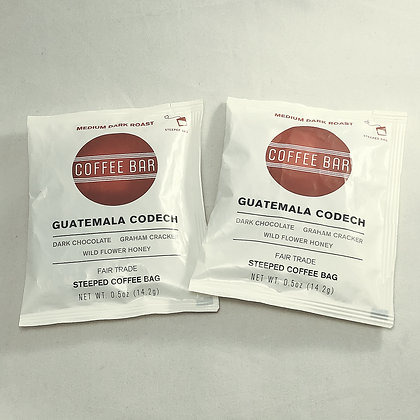 Individual Steeped Coffee Bag - Guatemala Codech