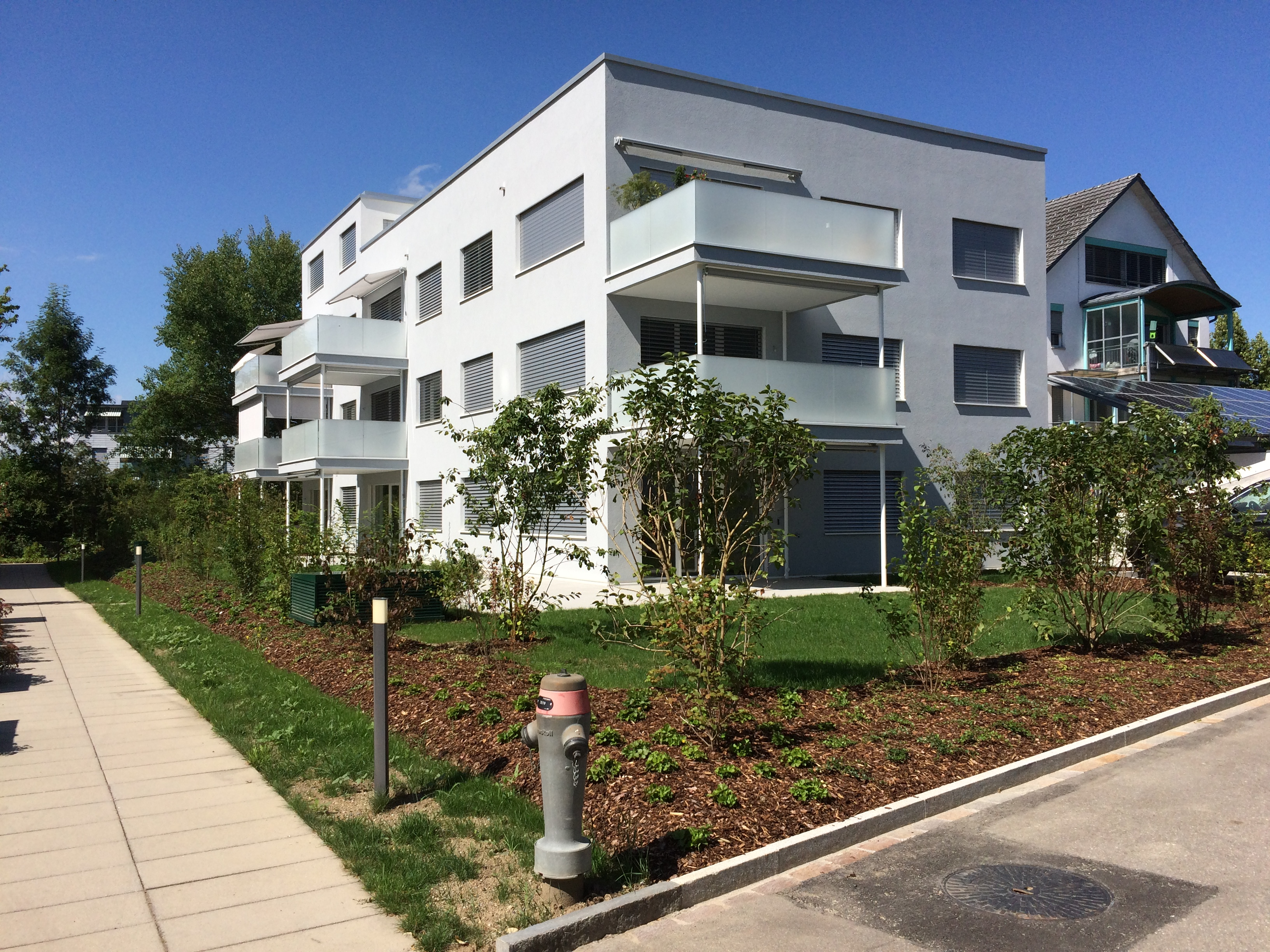 Neubau Mehrfamilienhaus