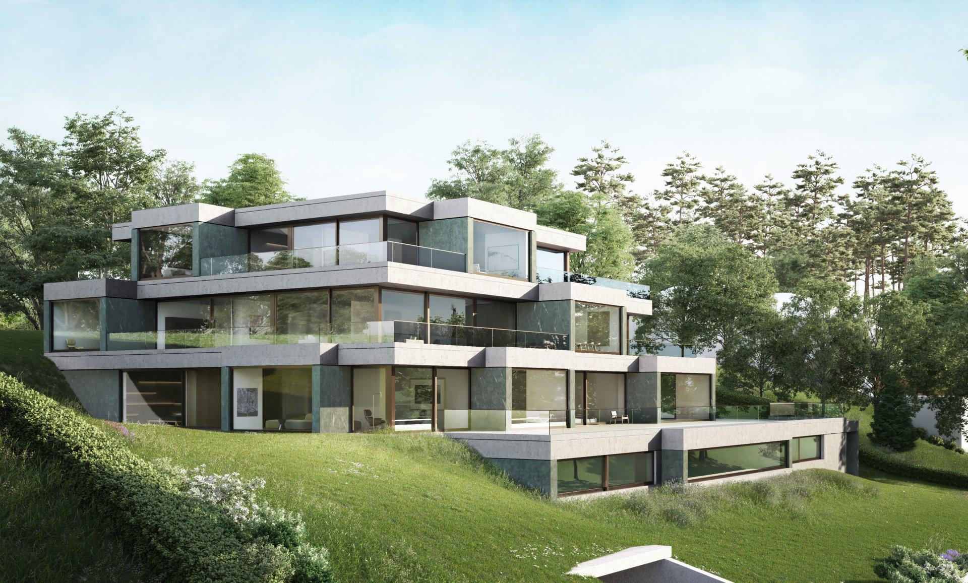 Neubau MFH, 7 Luxuswohnungen