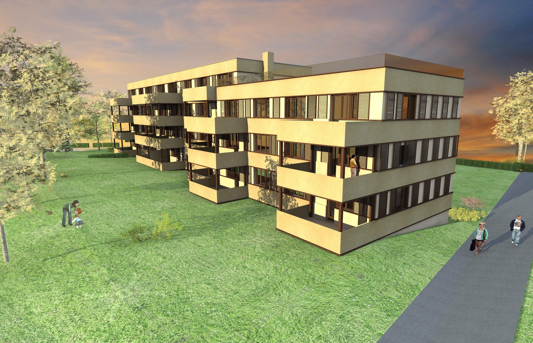 Sanierung 24 Wohnungen