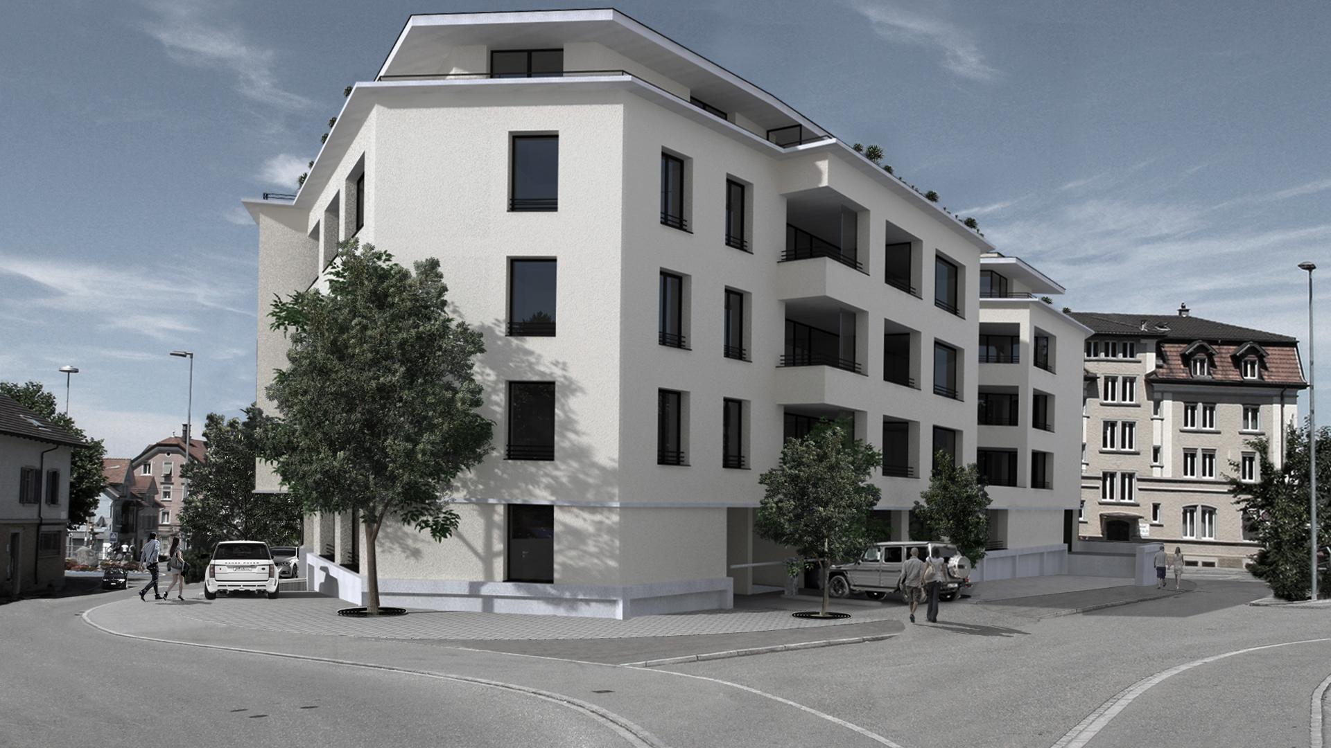 Wohn- und Geschäftshaus Triangel