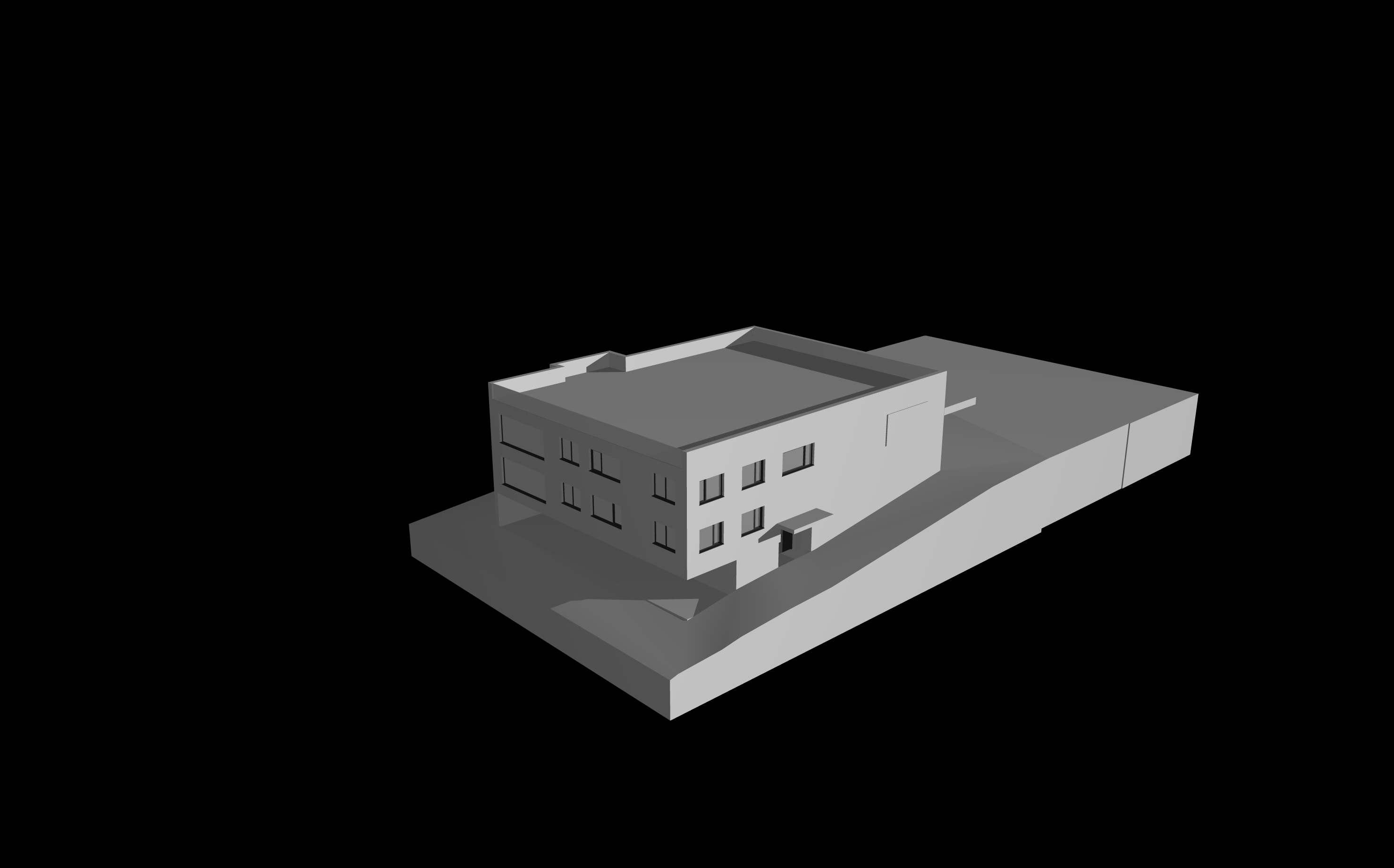 Autogarage mit 2 Wohnungen