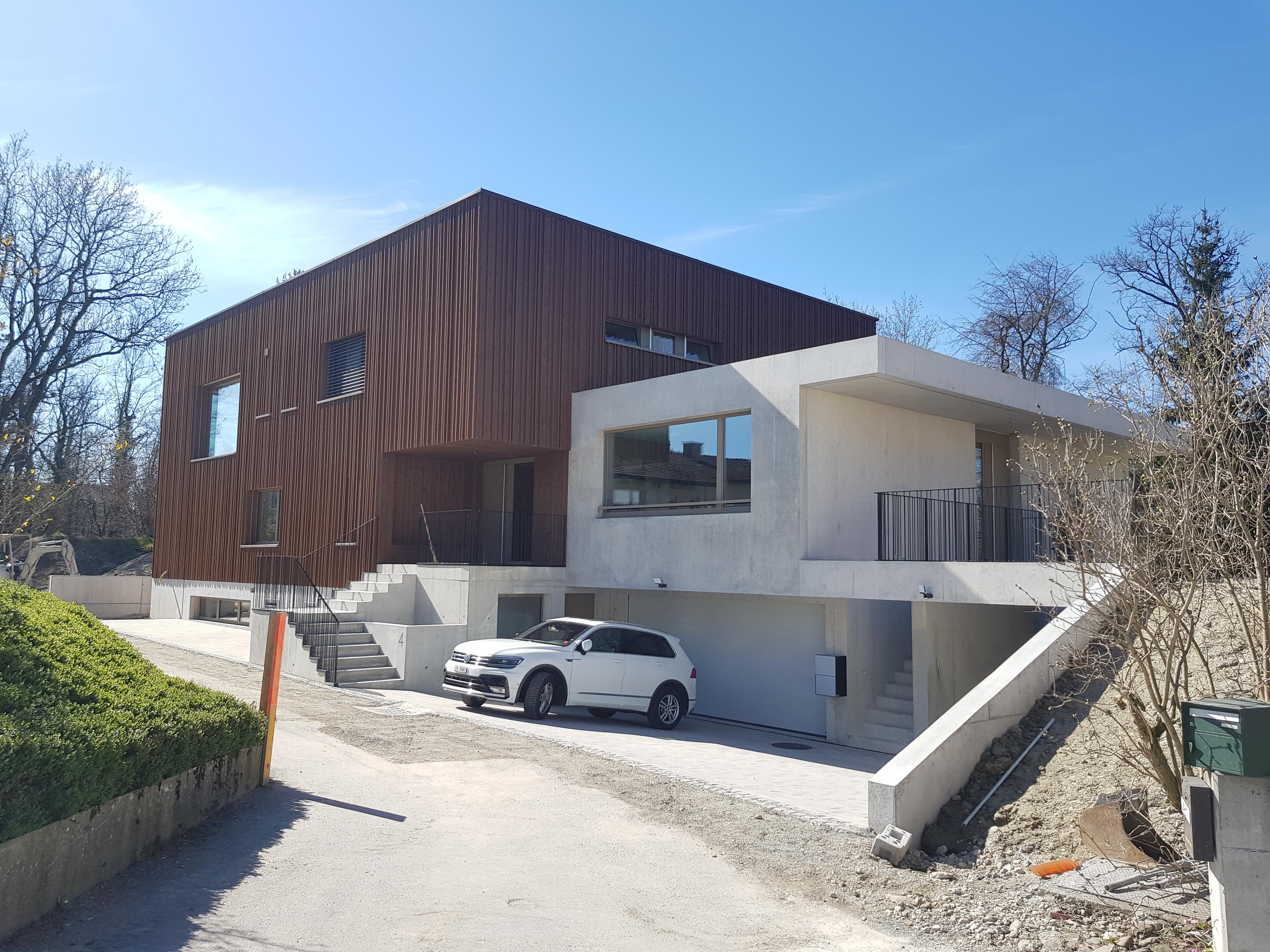 Neubau EFH mit Architekturbüro der ZuMo AG