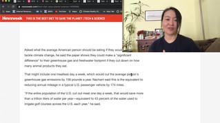 Part 1, BTS Black Swan, Eat Jin, Ocean Warming Impacts Sushi, Food & Eating, Project Drawdown